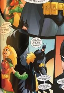 Stephanie Brown as Robin and Batman