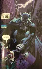 Batman Strangling the Joker