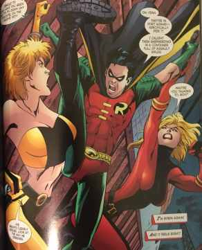 Tim Drake back in the Suit