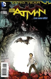 Batman #22 New 52 Cover
