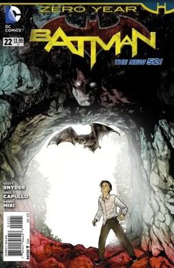 Batman #22 New 52 Cover