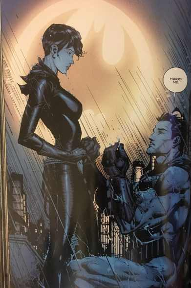 Batman Proposes To Catwoman
