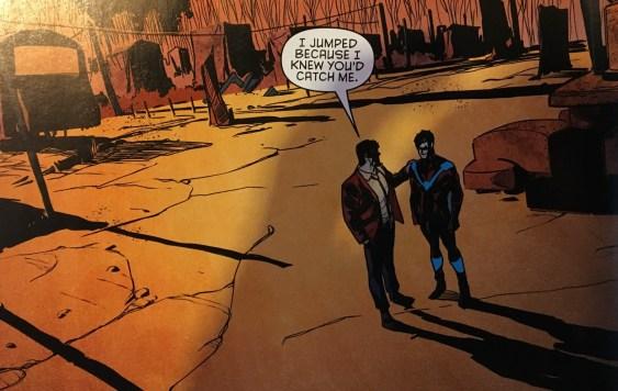Bruce Wayne is Saved
