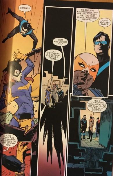 Nightwing Batgirl Raptor