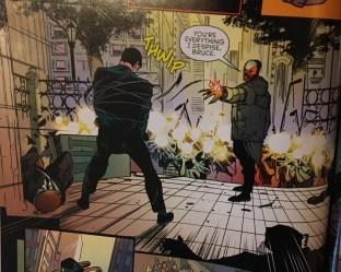 Raptor Captures Bruce Wayne