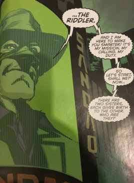 Riddler Zero Year Makes His Move
