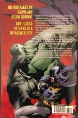 Batman: No Man's Land Volume 3 Rear