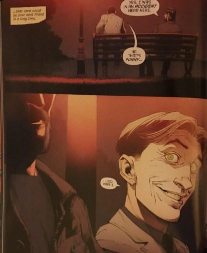 Bruce Wayne and Joker Amnesia