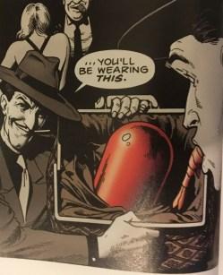 Joker's Red Hood Helmet