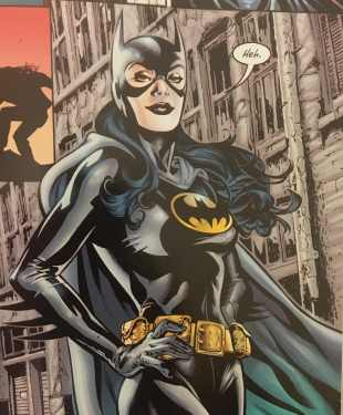 Huntress First Batgirl Costume