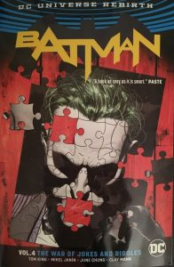 Batman Volume 4 The War of Jokes and Riddles Cover