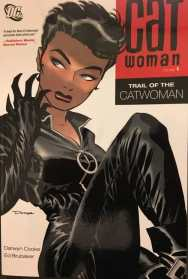 Catwoman Trail of the Catwoman Cover