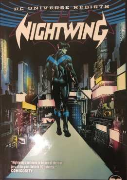Nightwing Back to Bludhaven Cover