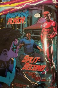 Nightwing and Flash Split Second