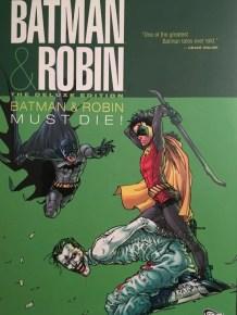 Batman & Robin Batman Must Die Cover