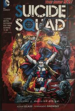 Suicide Squad Volume 2: Basilisk Rising Cover