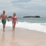 Walk on the beach Marietas Islands Pacific Ocean