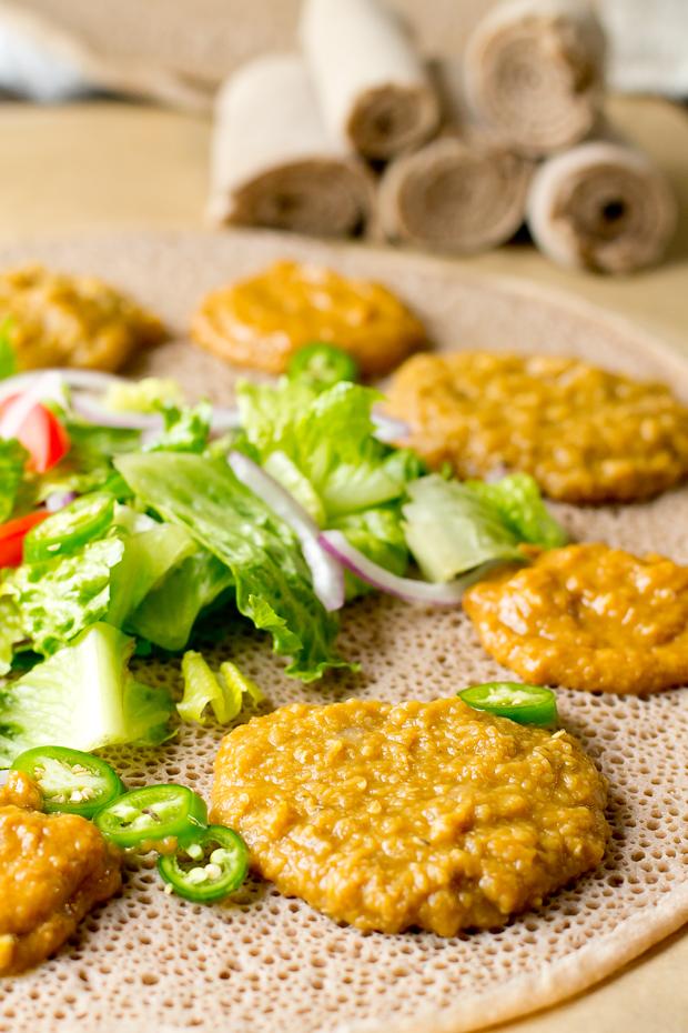Misir Wot (Ethiopian Red Lentils) - thegourmetgourmand.com