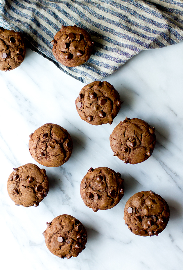 Chocolate Cherry Muffins - thegourmetgourmand.com