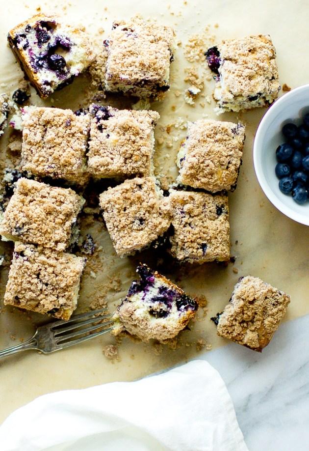 Blueberry Coffee Cake - thegourmetgourmand.com