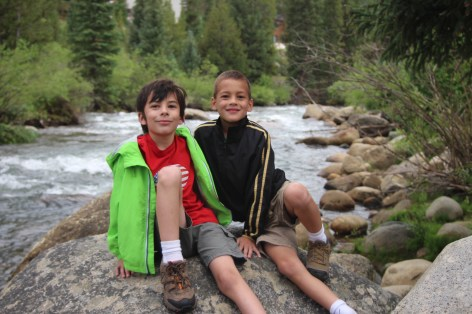 Steven & Henry on the Snake River