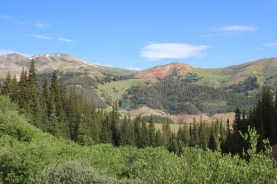 Mayflower Gulch Trail views
