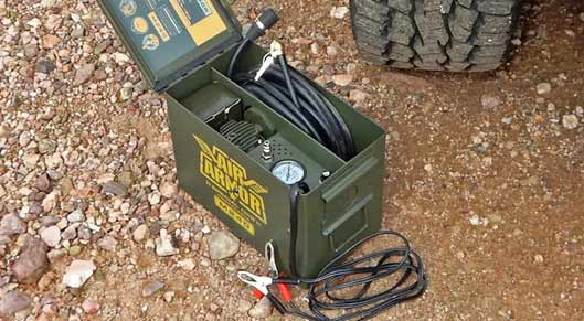 Air Armor Small Air Compressor for Tires