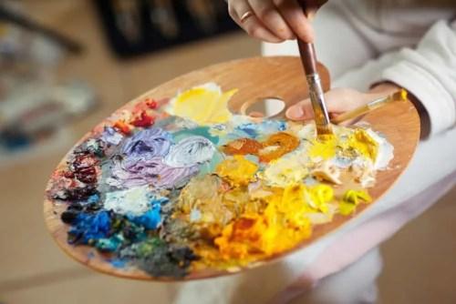 art, paint, brush, gala, creative