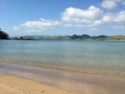 A nice beach in the Bay of Islands area.