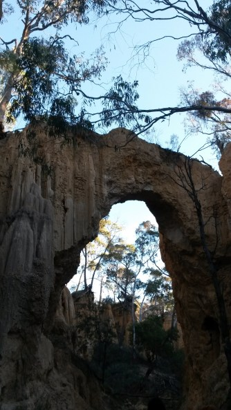 The Golden Archway at Hill End