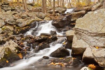 Tiorati Falls at Harriman State Park