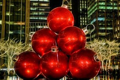 Rockefeller Plaza at Christmas
