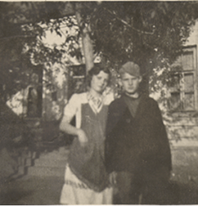 Opa with his sister Elfrieda