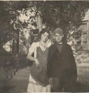 Opa with his sister Elfrieda