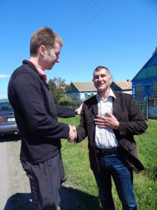 The mayor of Lichtenau, Ukraine