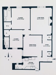 Blueprint from our new digs.