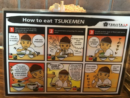 Instructions because this isn't your instant ramen and microwave procedure that you've perfected