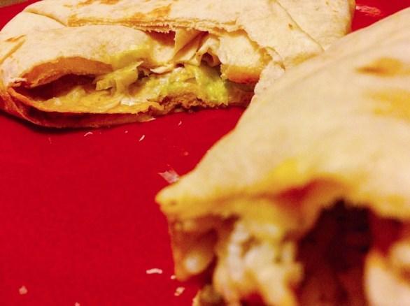 Crunch Wrap Supreme & Quesarito Burrito