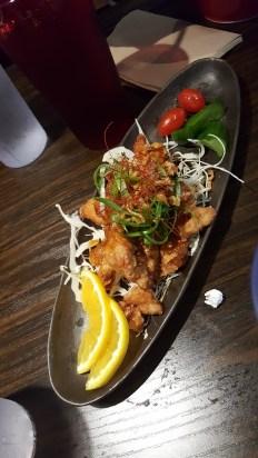 Oroshi Ponzu Fried Chicken