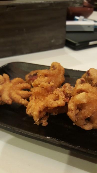 Iddako - fried baby octopus