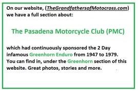 00 re Pasadena MC redirecting to GH