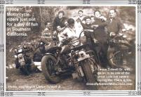 1930s Boozefighter MC member Lance Tidwell Sr. a Great in side car racing, friends & cycles