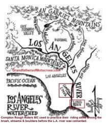 1947 a4 Rough Riders 1A LA River