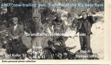 1947 a8 'Cow Trailing' 3 of 4 won Big Bear, Del Kuhn 52, Frank Kocker 40-41, Al Titus, 3 Compton Rough Riders MC but not Dutch Sterner 48,