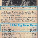1954 1-10h Feb issue a4 3 winners & results wins Big Bear,