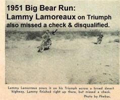 Big Bear, Lammy Lamoreaux