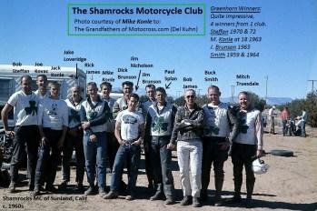 91- 1960s a1 Shamrocks MC thx Mike Konle