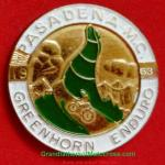 1953 0-0b 1953 Greenhorn pin, but actually 1952 as 1953 pin lost