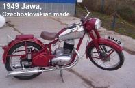 1948 a2 1949 Jawa, Kuhn rode Eng. Trials, LB dealer Dale Brown loaned for 250 class (2)