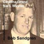1957 5-0 a12 Catalina winner, Bob Sandgren
